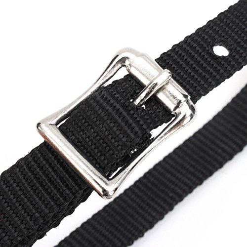 Hommes Boucles Western Noirâ Ladies Leather Harness Horse Straps Cowboy Spur Generic xP7qgwZZ