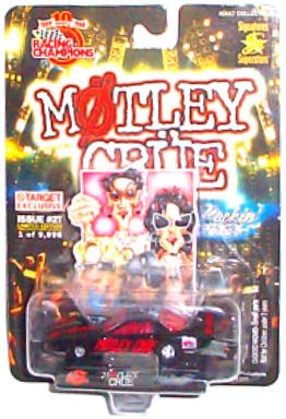 Star Motley Crue (Racing Champions - Hot Rockin' Steel - Limited Edition Signatures Superstars (Issue #2T) - Motley Crue Select Vehicle)