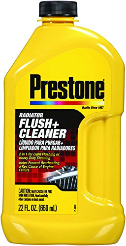 Prestone AS105-6PK Radiator Flush and Cleaner - 22 oz, (Pack of 6)