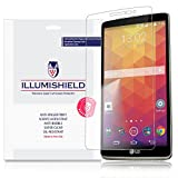 iLLumiShield - LG G Stylo Screen Protector with Lifetime Replacement Warranty - Japanese Ultra Clear HD Film with Anti-Bubble and Anti-Fingerprint - High Quality (Invisible) LCD Shield - [3-Pack]