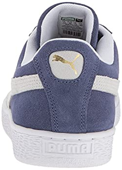 Puma Suede Classic Sneaker, Blue Indigo White, 9.5 M Us 1