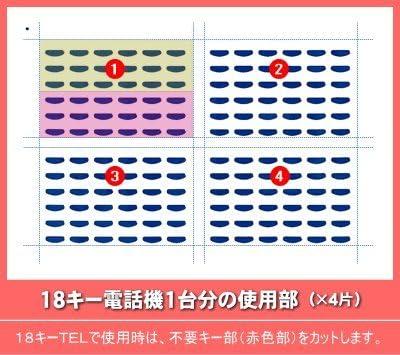 LKすっきりシート(NTT αGX1型用 500台分)LS-NT02-500