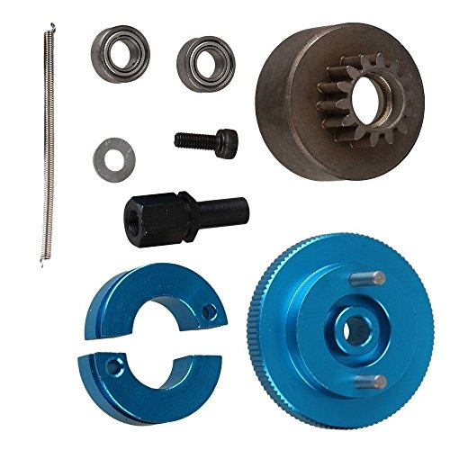 - Yiguo RC 1:10 Car Upgrade Parts Blue Aluminum Alloy 14T Clutch Flywheel Set T10095