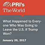 What Happened to Everyone Who Was Going to Leave the U.S. if Trump Won? | Amanda Kersey