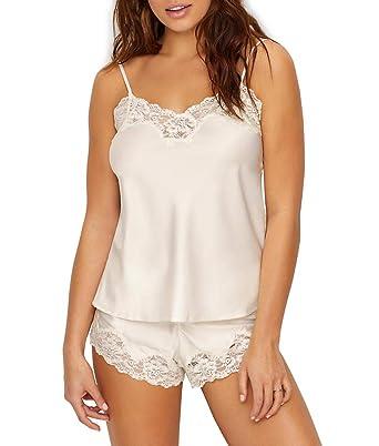 36428c2f3c Lauren by Ralph Lauren Women s Satin Cami Top Pajama Set Ivory X-Large