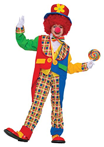 Clown on the Town Costume - Child Costume - Medium(8-10)