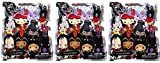 Disney 3-D Figural Foam Keyring Series Villains Blind Bag Set of 3