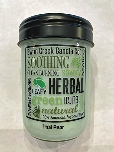 Swan Creek Thai Pear Candle Co 12 oz Pantry Jar