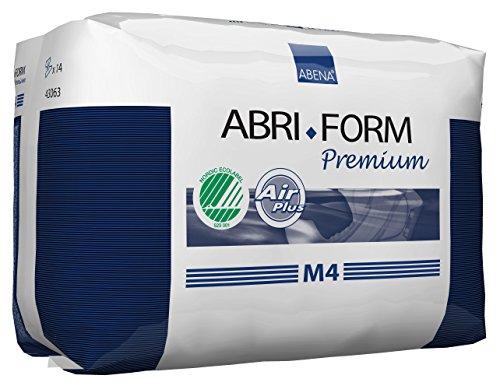 Abena Abri-Form Premium Incontinence Briefs, Medium, M4, 14 Count
