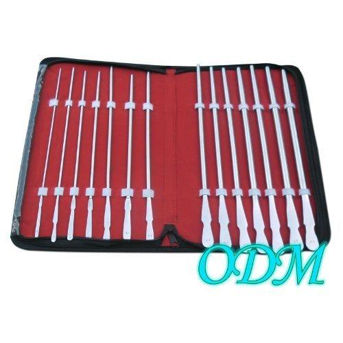 ODM Set of 14 Dittel Urethral Sounds Urology