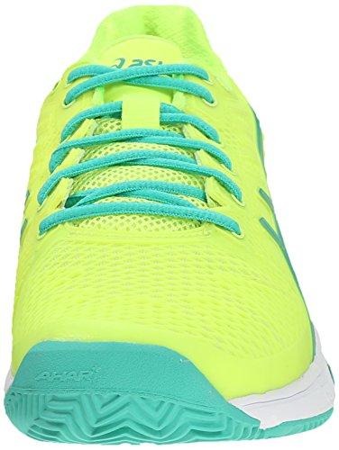 US Shoe Mint Gel 5 Tennis Speed Solution M Women's ASICS 2 Yellow Flash Green Sharp xYSw46Tq