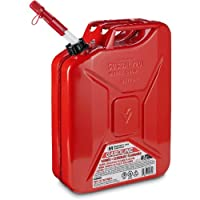MIDWEST CAN. Metal Jerry Gas Can, 5 Gallon, (Pack of 4)