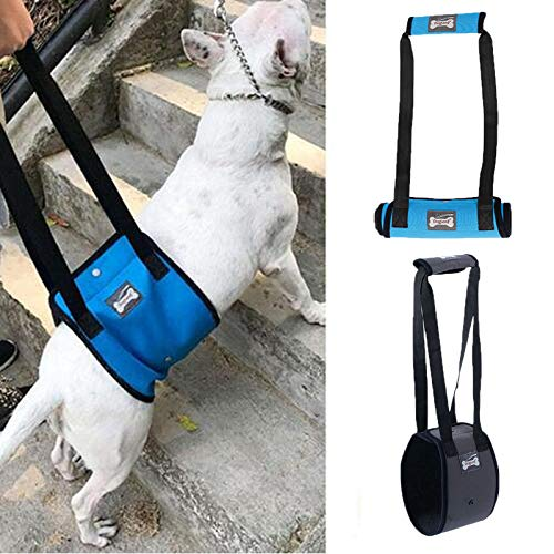 PENIVO 4 Sizes Dog Lift Support Harness Walking Vest Canine Aid Assist Sling Climb Stairs Rehabilitation for Canine…
