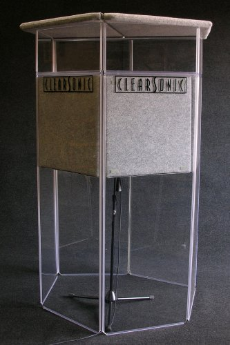 Clearsonic Booth - Clearsonic Isolation Booth for Voiceover and Music Instrument Recording
