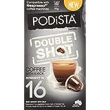 PODiSTA Nespresso Compatible Capsules - Double Shot, Extra Intense, 10-Count