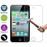 Para Apple iPod Touch 4 Protector de Pantalla ZeWoo® Cristal Vidrio Templado Premium (9H *2.5D, 0,33mm)