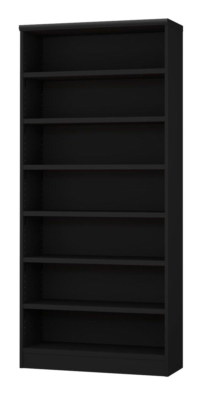 大洋 Shelfit オーダーラック 高さ178cm×幅78cm×奥行31cm ブラック 棚板1枚追加 NCOT-178078RBKFXX01 B0183WSU4E ブラック|1 ブラック