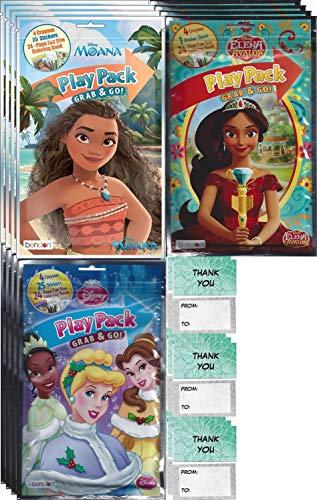Disney Princess Grab n Go Play Packs (12