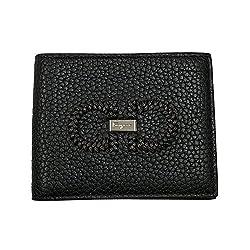 Salvatore Ferragamo Men S Gancini Black Leather Bifold Wallet 66a353