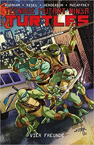 Teenage Mutant Ninja Turtles 06: Bd. 6: Vier Freunde: Amazon ...