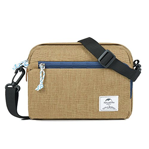 Naturehike Messenger Bag Men Shoulder Messenger Bag Chest Bag Outdoor Pectoral (grass Green) Brown