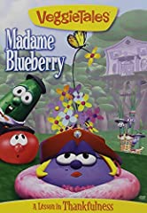 """Even though Madame Blueberry lives in a nice treehouse, and has lots of friends, she is still upset because she always thinks she needs more """"stuff"""". When a new Stuff-Mart superstore opens up near her home, she loads up with everything she ca..."""
