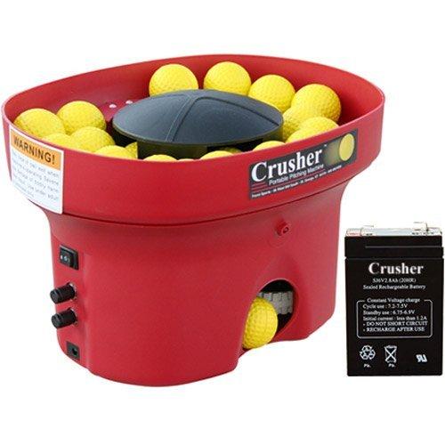 Trend Sports Crusher Portable Mini Lite-Ball Pitching Machine - Pitching Machine Battery