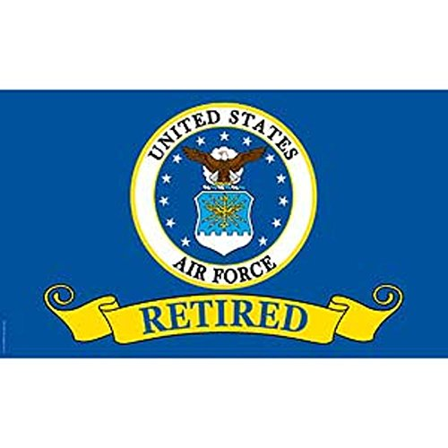 FindingKing U.S. Air Force Retired Flag 3ft x 5ft ()