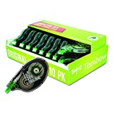 """Office Products : Tombow MONO Correction Tape, 1/6""""x394"""", White, Pack of 10 (68720)"""