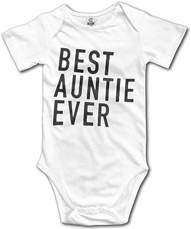 I love my Aunt Babygrow Aunt Auntie Baby vest Gift Present for Newborn