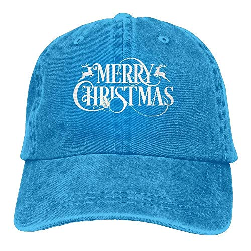 Price comparison product image Ariosto0 Merry Christmasadjustable Unisex Baseball Cap Fashion Style Hat Cotton Denim Cap
