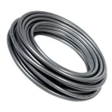 Soft Gray Opaque Insulated Silicone Rubber Tubing for Air and Water - Inner Diameter 1/8'' - Outer Diameter 1/4'' - 25 ft