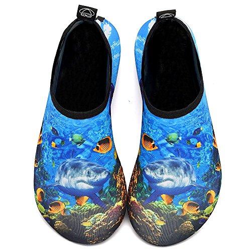 D'eau Plage Enfants Séchage Rapide À Sport Aquatique Chaussettes Pieds Aqua Mer Yoga on Chaussures Nus De Slip Surf Nager Femmes Bigu Pour Et Hommes 7Uqpx48wxR