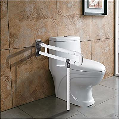 OLQMY-Old man friend Barrier-free handrail elderly disabled people can go into the bathroom handrail toilet toilet folding handrail