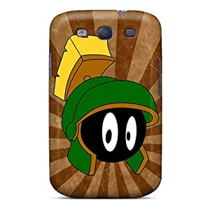 Tpu Case Cover For Galaxy S3 Strong Protect Case - Marvin The Martian Design