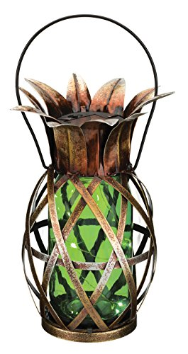 - Regal Art & Gift 11866 Pineapple Lantern Decorative Lantern, Green