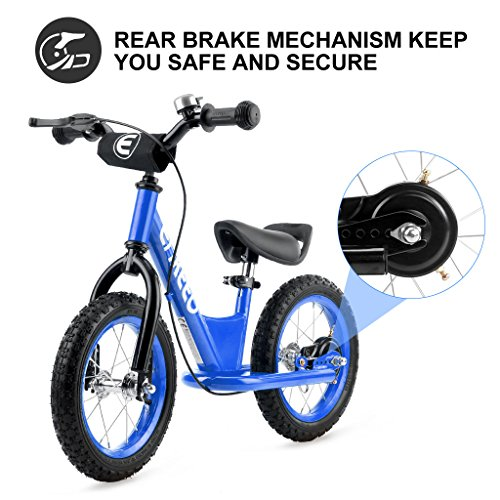 53c0f83ad2e ENKEEO 12 inches Sport Balance Bike No Pedal Control Walking Bicycle  Transitional Cycling Training Rubber Tires