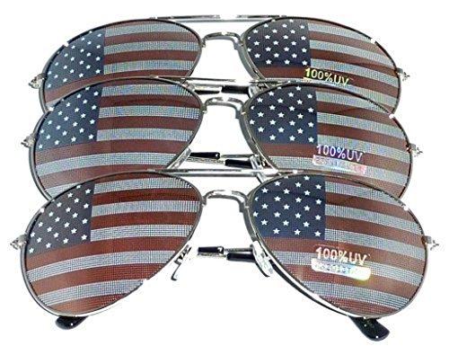MJ Eyewear American Aviator Sunglasses product image