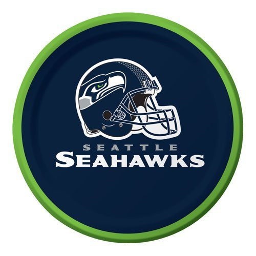 picture of Seattle Seahawks Paper Dessert Plates