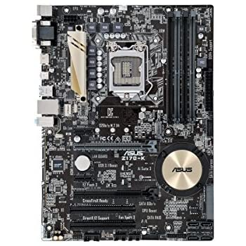 ASUS Z170-K ATX DDR4 Motherboards