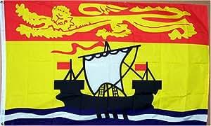 Nuevo 3x 5nuevo Brunswick provincia bandera de Canadá 3x 5