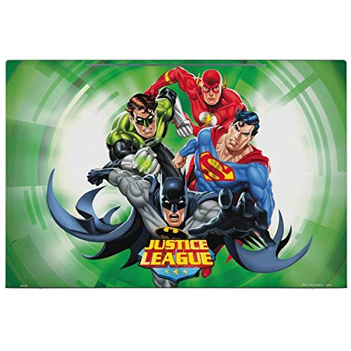 Skinit DC Comics Justice League Envy 17t (2018) Skin - Justice League Team Power Up Green Design - Ultra Thin, Lightweight Vinyl Decal Protection