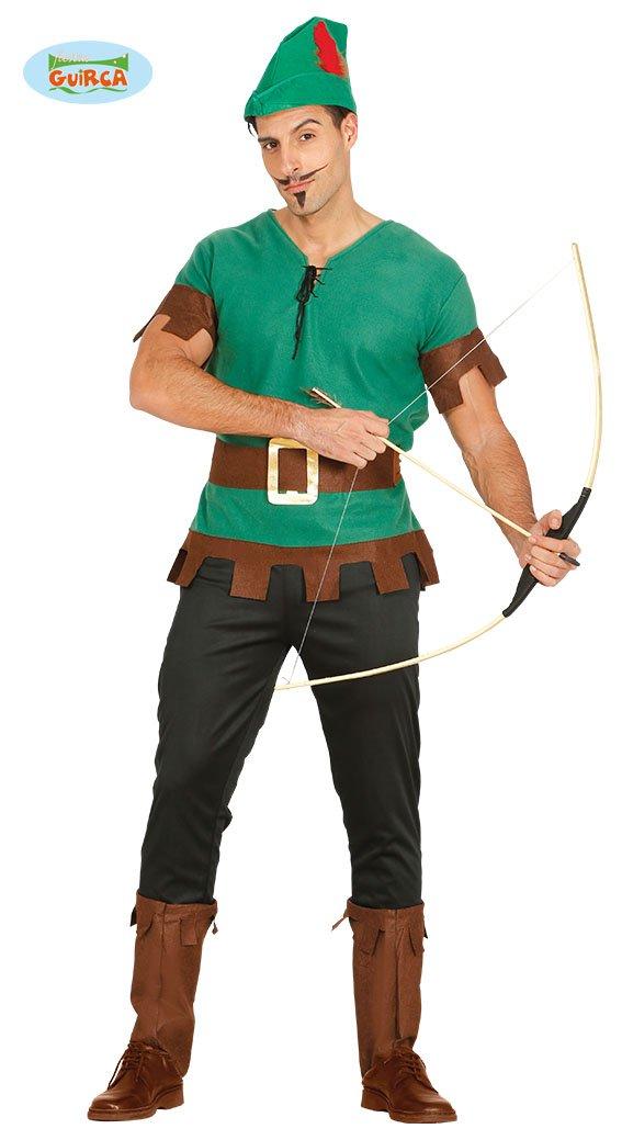 Guirca grafoplas Traje de Robin Hood, Arquero, desaparezca de del ...