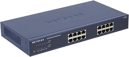 Netgear ProSafe JGS516 16-port Gigabit Ethernet Switch