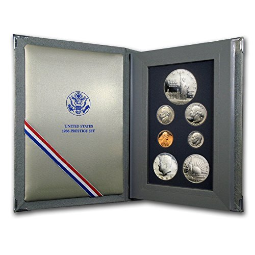 1986 S U.S. Mint Prestige Set Brilliant Uncirculated