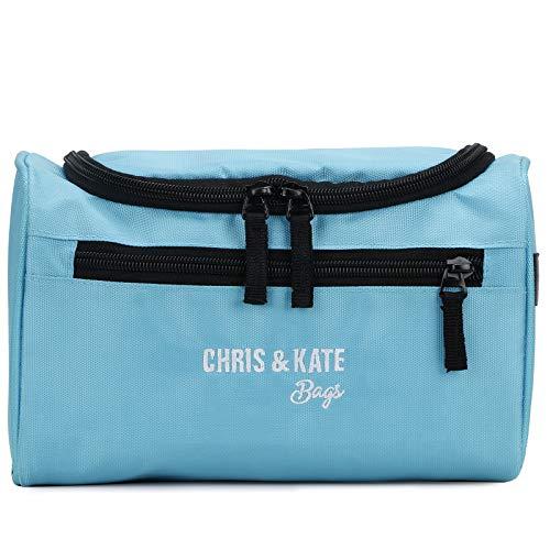 Chris  amp; Kate Polyester Toiletry Bag  Teal Blue_CKB_293SE