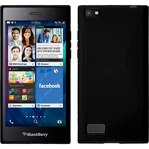 Silicone Case BlackBerry Leap PhoneNatic product image