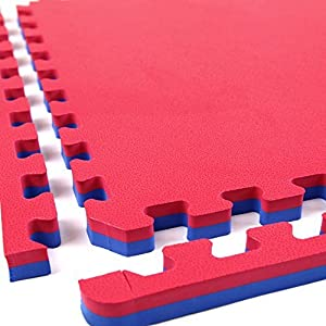 "IncStores - 1"" MMA Interlocking Foam Tiles - Perfect for martial arts, lightweight home gyms, p90x, Insanity, gymnastics, yoga, cardio, aerobic, and plyometric exercises by IncStores"