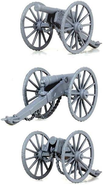 Sistema De Artiller/ía Napole/ónica Francesa 1804-1812 XI con Pistolas De 6 PDR Miniaturas De Pl/ástico De 28 mm Napole/ónicas Victrix VX0019 Juego De 15 Figuras Y 3 Modelos De Pistolas