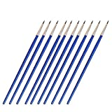 10Pcs Miniature Fine Paintbrushes Detail Painting